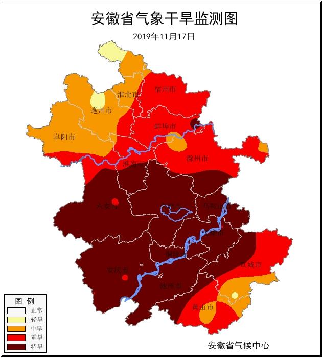 冷空气携风带雨而来 安徽人工增雨缓解旱情