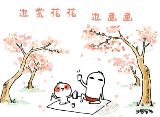桃花朵朵迷人眼 认识桃花勿错识