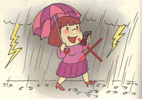 夏天来了,应告诉孩子如何防雷电