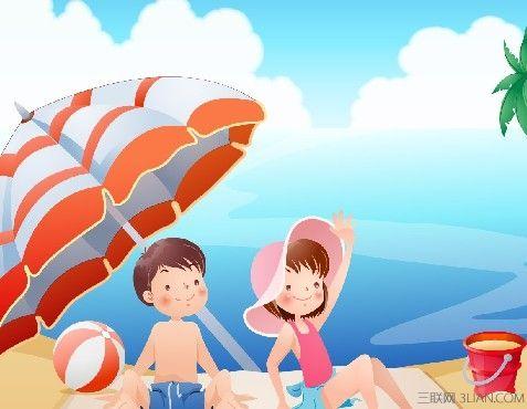 夏季宝宝出游需防暑