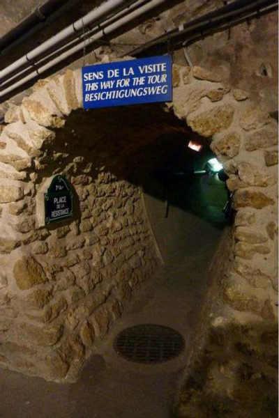 干净可参观的排水系统 法国-巴黎
