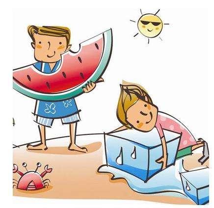 八要注意出现头晕,恶心,口干,迷糊,胸闷气短等症状时,应怀疑是中暑