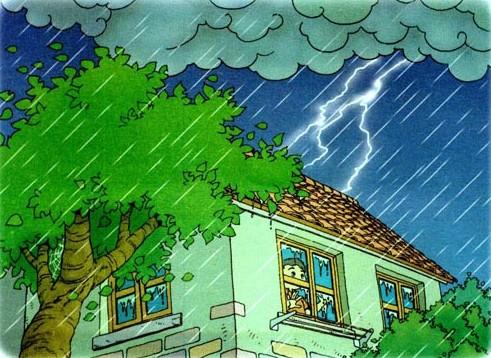 遇雷雨天气时的注意事项