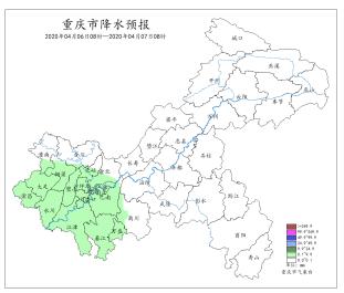 清明假期最后一日 重庆大部天气
