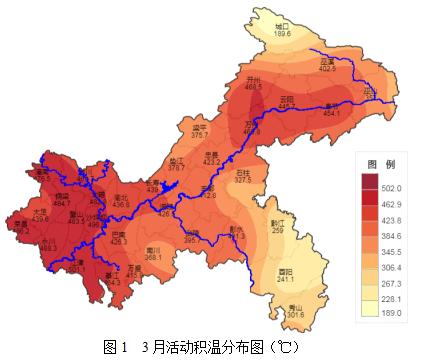 重庆市2020年3月农业气象月报