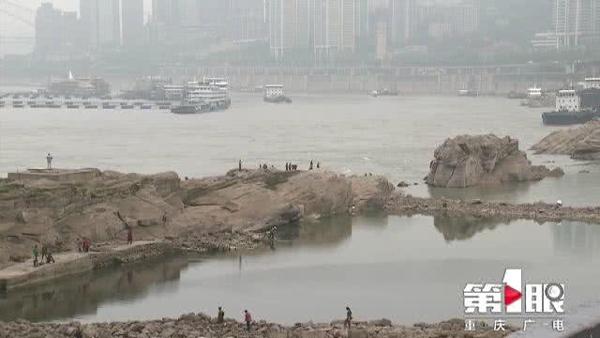 """重庆南滨路下""""龙门浩月""""现身 今起三天阴雨持续"""
