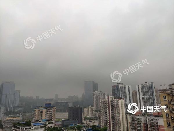 今日重庆各地降雨持续 明日天气转好局地冲35℃
