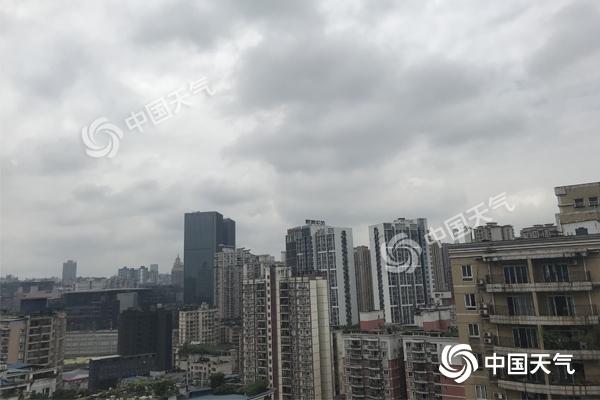 """重庆""""凉凉""""22℃ 今明雨水暂歇 后天各地再迎雨"""