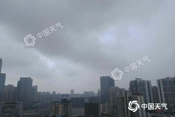 重庆偏西偏北地区有暴雨 警惕山