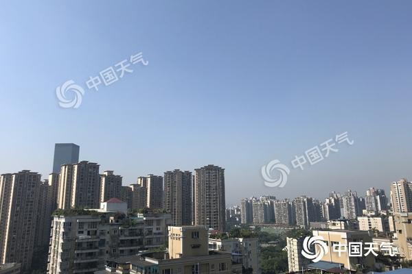 """重庆""""高烧""""不退 未来三天全市最高可达39℃"""