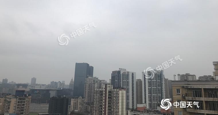 重庆阴雨天气持续 春运路上需注意安全