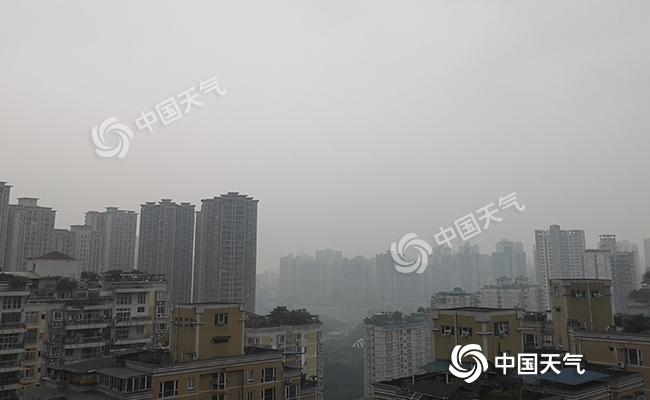 重庆晴雨快速切换 后天全市冲击24℃