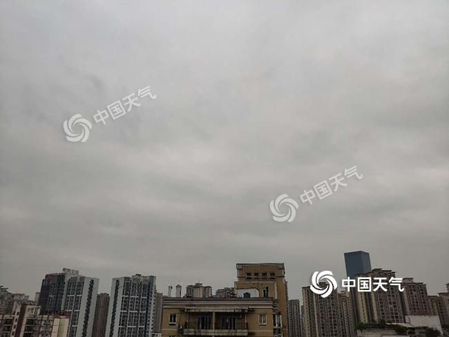 重庆未来阴雨持续 今日局地有中雨