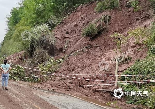 重庆东南部偏南地区持续降雨!黔江等地地质灾害气象风险高