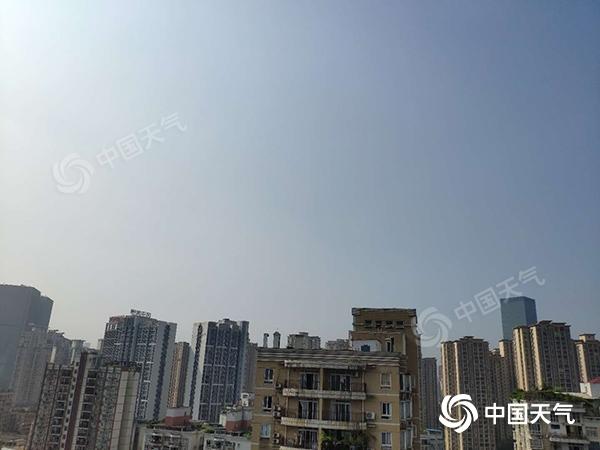 未来重庆多云为主 局地气温或达39℃
