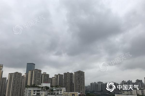 重庆阴雨持续尽显秋凉 中心城区最高温不足25℃