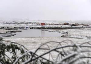 四川红原大草原迎入秋来第一场雪