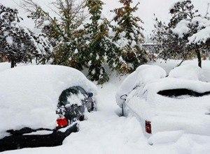 德国气温骤降 南部降雪达15厘米