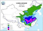 中东部迎入春来最强雨 7省市有大到暴雨