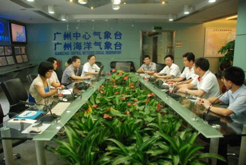 许小峰连线广东气象局指导防御凡亚比工作