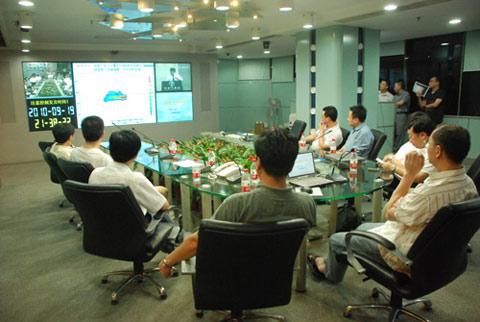 中国气象局工作组抵粤并开展工作
