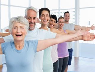 8步老年健身舞跳出健康身材
