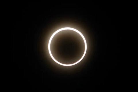 天幕即將上演日環食奇觀 如何安全觀賞