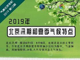2019年北京汛期和夏季气候特点
