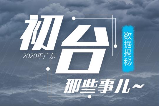 数据揭秘2020年广东初台那些事儿