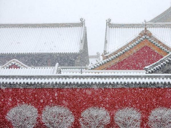 北方新一轮降雪起 江南华南迎入冬最强雨