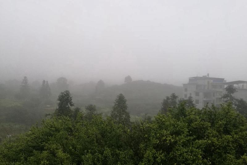 今晨江西大雾袭城 多条高速局部封闭