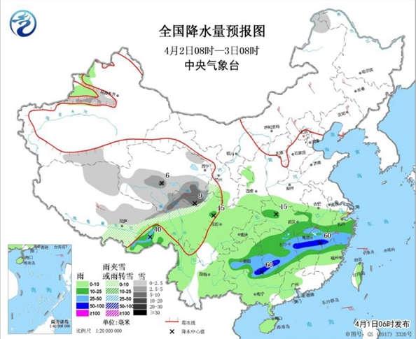南方雨水减弱气温低 北方干燥稳步回暖