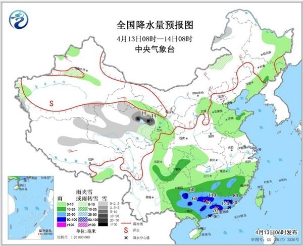 周末雨不休 强降雨强对流盘踞江南华南