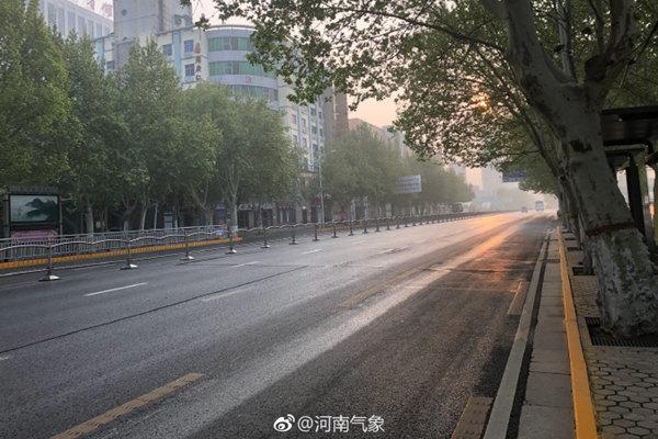 河南今天北风吹袭 下周气温再冲30℃