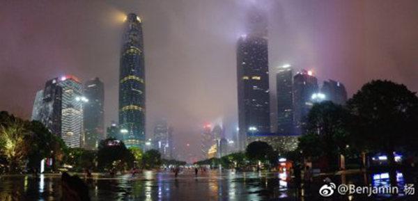 广东强降雨频 明起暴雨再来袭