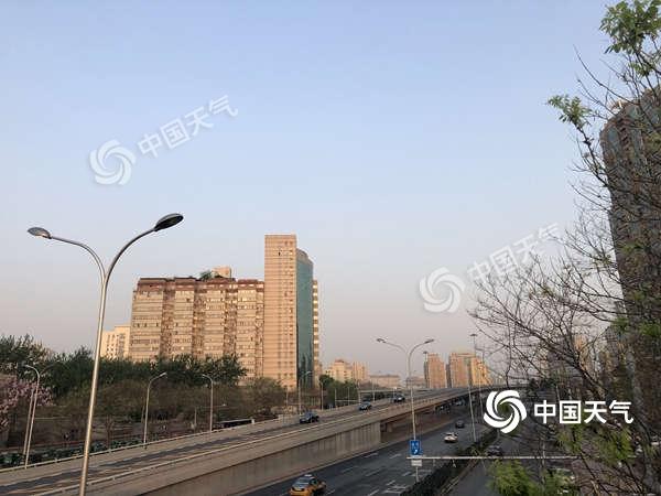 今日北京晴空在线 暖意不减