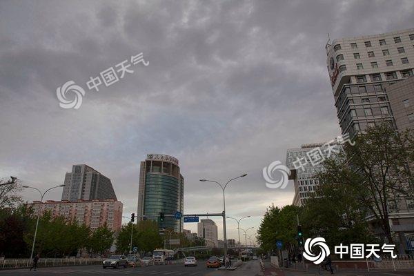 北京天气转凉 周末有雨