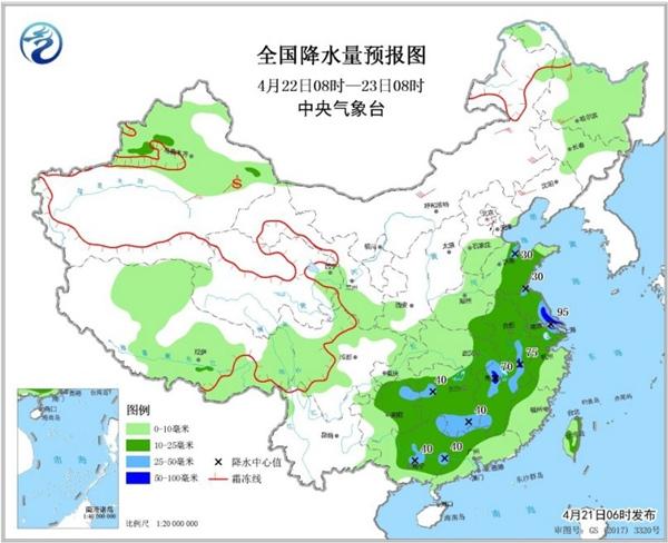 南方大范围强降雨持续 地质灾害风险高