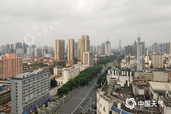 广西今天雨势增强 桂林柳州等地局部有暴雨或大暴雨
