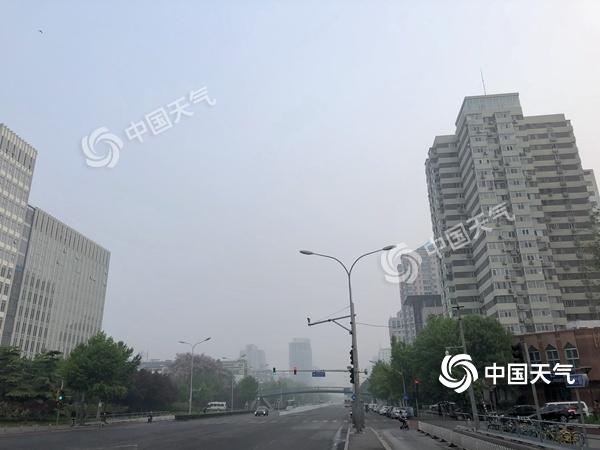 今天28℃明天20℃!北京天气将转折 阴雨降温明天现身