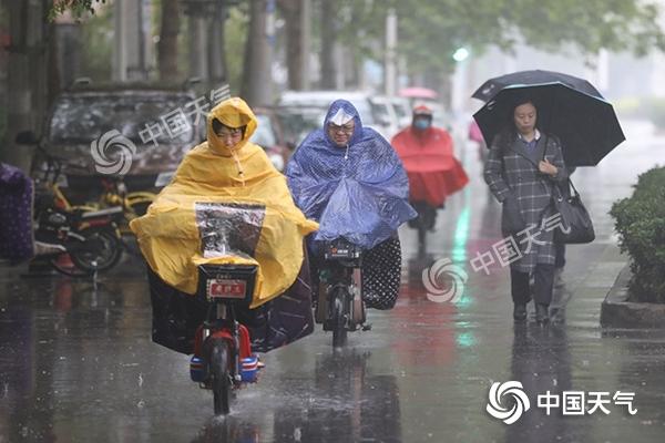中东部较强降雨持续 【重庆贵州】局地大暴雨