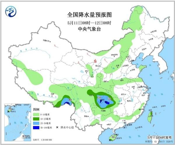 今起北方降雨缓旱情 南方强降雨卷土重来
