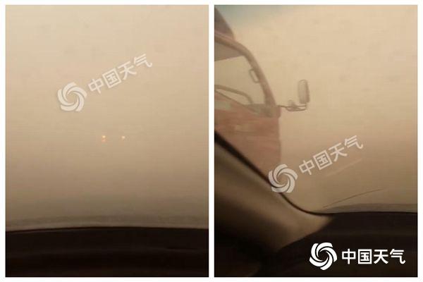 沙尘一路向东今夜进京 今年5月北方沙尘或比常年偏多
