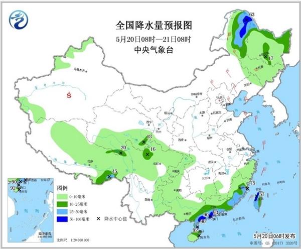 本周中东部迎来降雨休整期 周三起炎热大范围回归