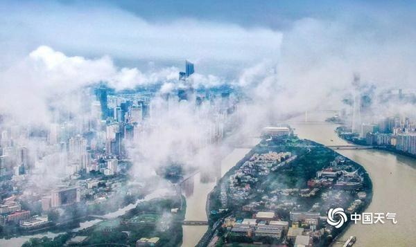 广东今明天降水分布不均,雷雨阵阵,粤西雨水明显局部暴雨