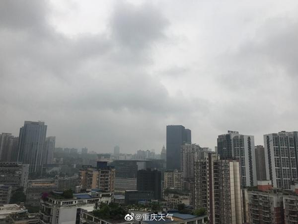 重庆5月来日照偏少近5成 今起天气转好气温回升