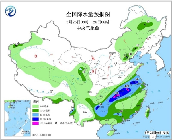 高温达鼎盛6省超37℃ 中东部暴雨将至