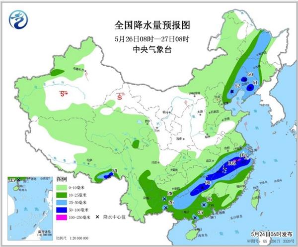 华北黄淮高温持续 南方强降雨今起强势登场