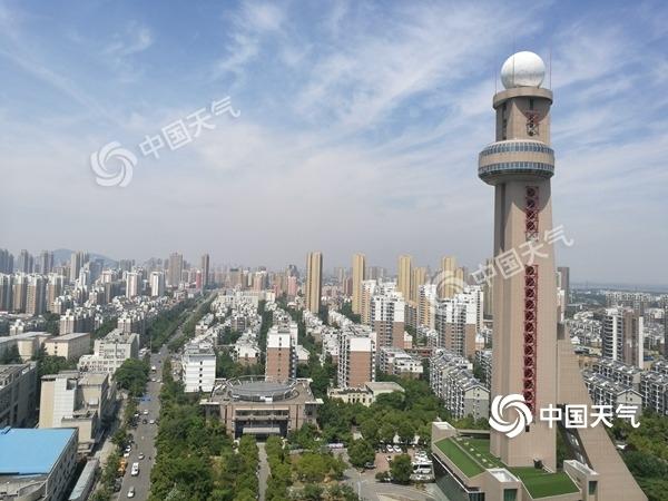 安徽周末雨势猛安庆等多地局部大暴雨 降温明显