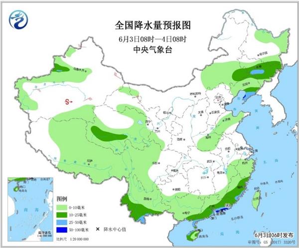 北方高温暴晒地表温度或超70°C 华南雨减弱